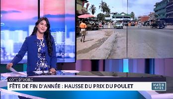 Fêtes de fin d'année en Côte d'Ivoire : le prix du poulet en hausse