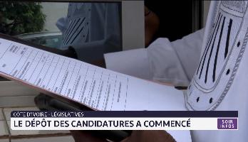 Législatives: le dépôt des candidatures a commencé en Côte d'Ivoire