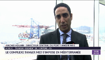 Maroc-Transport de conteneurs: le complexe Tanger Med s'impose en méditerranée