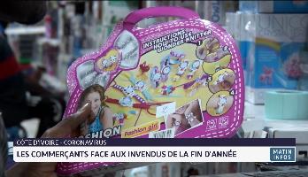 Côte d'Ivoire: les commerçants face aux invendus des fêtes de fin d'année