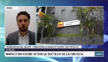 Afrique: quel impact du Covid-19 sur le secteur de la Fintech avec Aurélien Duval Delort