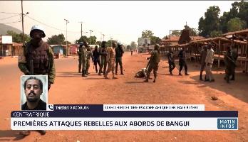 Premières attaques rebelles aux abords de Bangui en Centrafrique: décryptage de Thierry Vircoulon de l'IFRI
