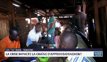 Centrafrique: la crise impacte la chaîne d'approvisionnement