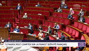 """Sahara marocain : """"Le Maroc peut compter sur la France"""" (député français)"""