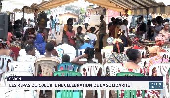 """Gabon: """"les repas du cœur"""", une célébration de la solidarité"""