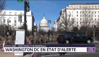 Investiture présidentielle: Washington DC en état d'alerte