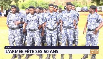 Mali: l'armée fête ses 60 ans