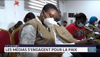 Côte d'Ivoire: les médias s'engagent pour la paix