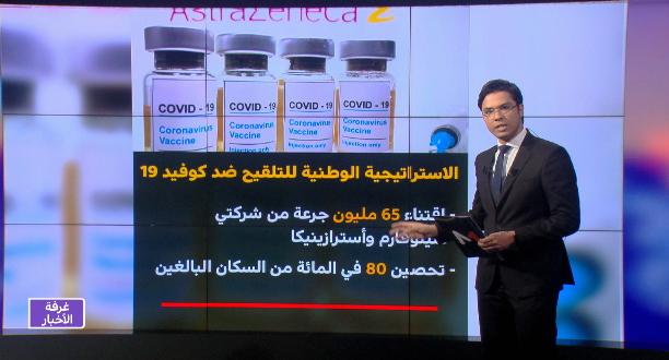 شاشة تفاعلية.. تفاصيل حول الاستراتيجية الوطنية للتلقيح ضد وباء كورونا
