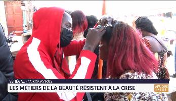 Sénégal: les métiers de la beauté résistent à la crise