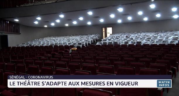 Sénégal: le théâtre s'adapte aux mesures sanitaires contre le Covid-19