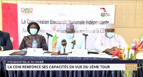 Présidentielle au Niger: la CENI renforce ses capacités en vue du 2e tour