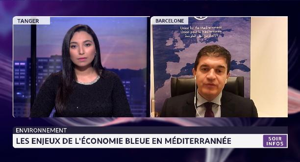 Les enjeux de l'économie bleue en Méditerranée avec Isidro Gonzalez de l'UpM