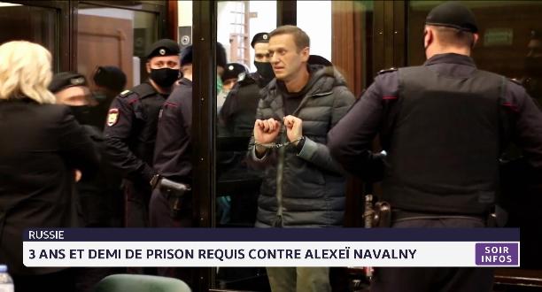 Russie: 3 ans et demi de prison requis contre Alexeï Navalny
