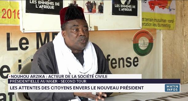 Niger: les attentes des citoyens envers le nouveau président