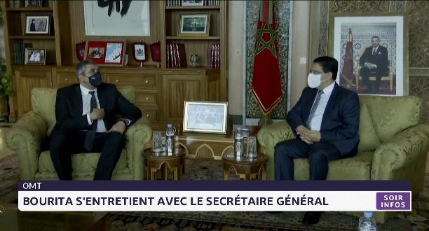 OMT: Bourita s'entretient avec le secrétariat général