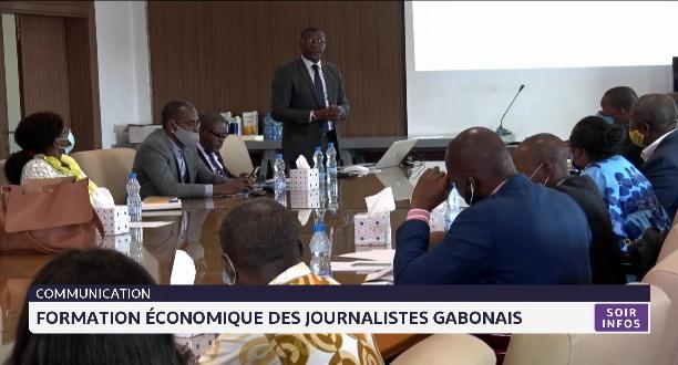 Communication: formation économique des journalistes gabonais