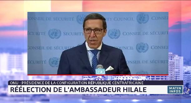 Présidence de la Configuration République Centrafricaine: réélection de l'ambassadeur Hilale