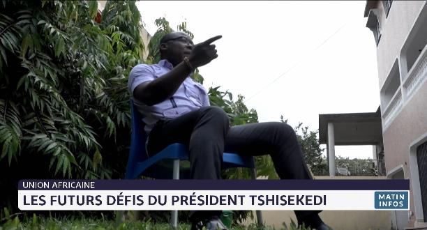Union africaine: les futurs défis du président Tshisekedi