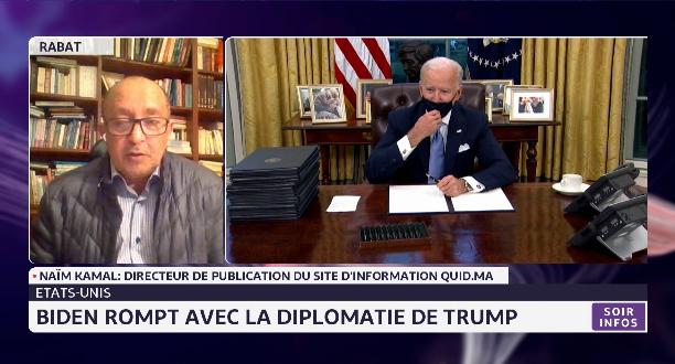 États-Unis: Biden rompt avec la diplomatie Trump
