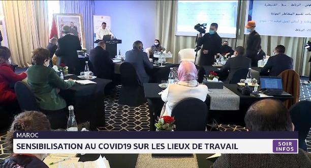 Maroc: sensibilisation au Covid-19 sur les lieux de travail