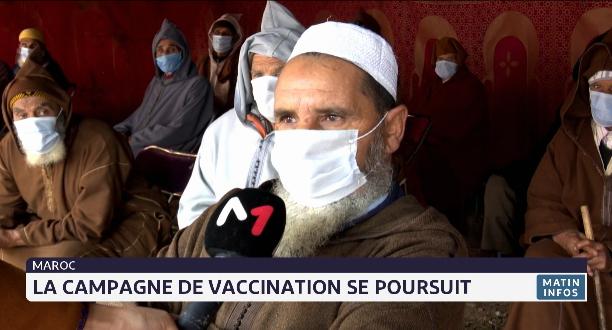 Maroc: la campagne de vaccination se poursuit
