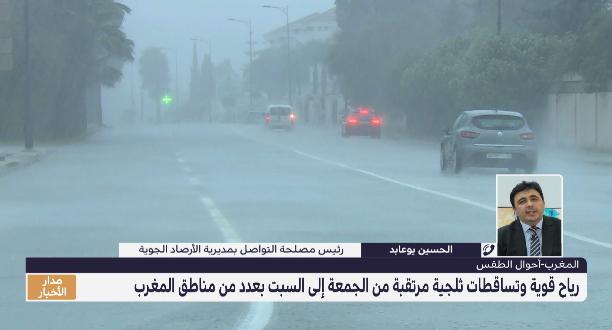 توضيحات الحسين يوعابد حول الحالة الجوية بربوع المملكة