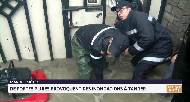 Intempéries à Tanger: plusieurs axes routiers bloqués et 24 décès