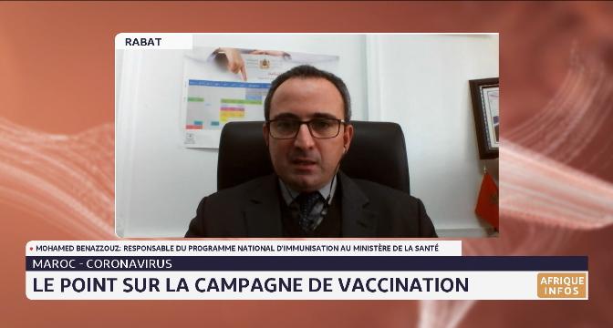 Maroc-Coronavirus: le point sur la campagne de vaccination