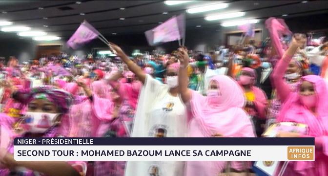 Présidentielle au Niger: Mohamed Bazoum lance sa campagne