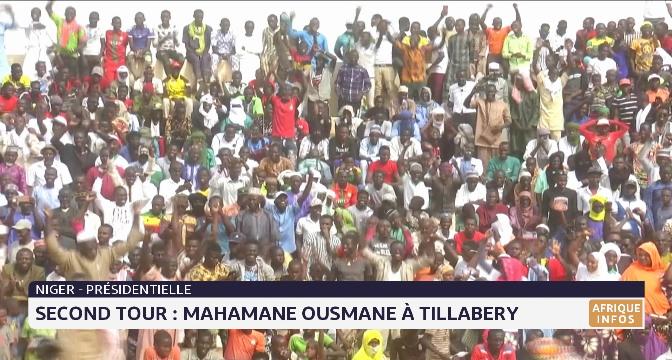 Second tour au Niger: Mahamane Ousmane à Tillabery