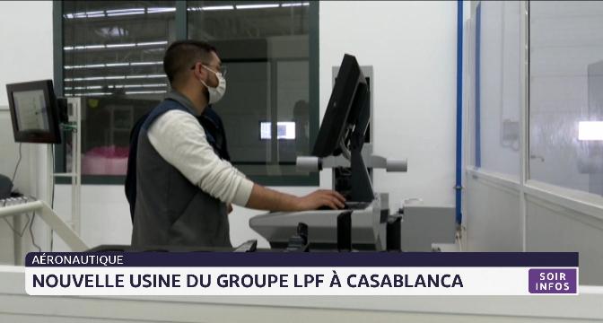 """Aéronautique: nouvelle usine du groupe """"Le Piston Français""""  à Casablanca"""