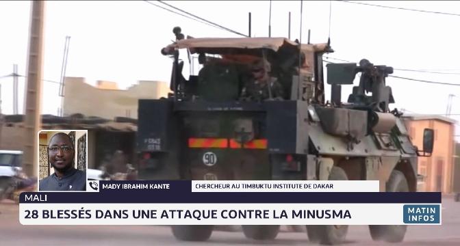 28 blessés dans une attaque contre la Minusma au Mali: analyse de Mady Ibrahim Kante