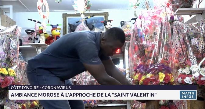 """Côte d'Ivoire: ambiance morose à l'approche de la """"saint-valentin"""""""