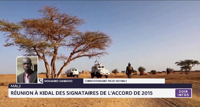 Mali: réunion à Kidal des signataires de l'accord de 2015