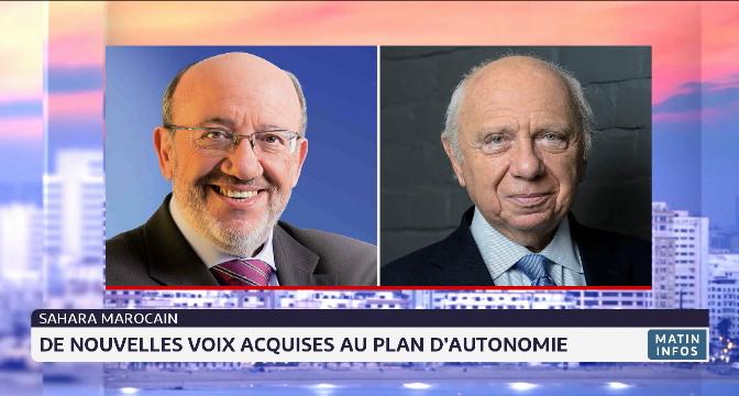 Sahara marocain: deux ténors de la politique belge appellent l'UE à soutenir la solution d'autonomie