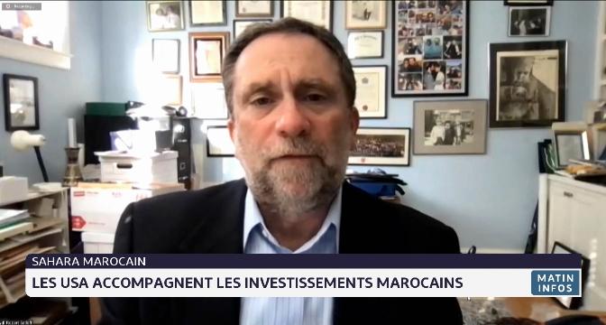 Sahara marocain: les Etats-Unis accompagnent les investissements marocains