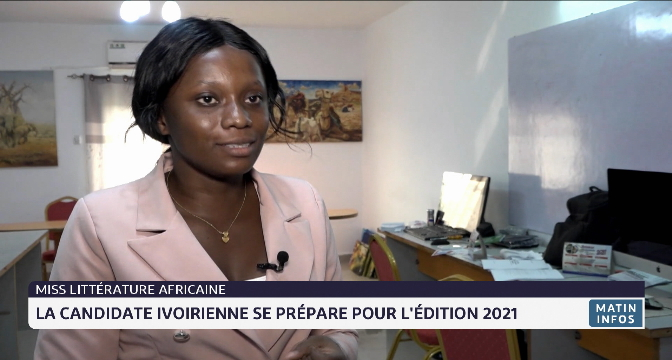 Miss littérature africaine: la candidate ivoirienne se prépare pour l'édition 2021