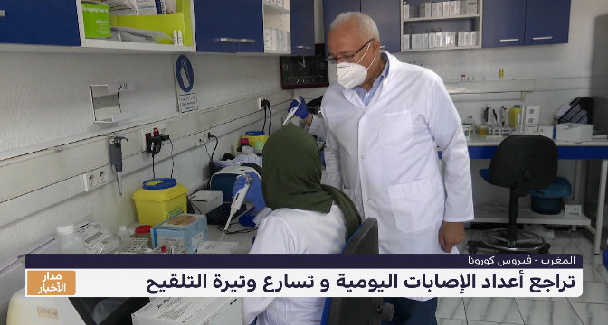 المغرب .. تراجع أعداد الإصابات اليومية بكوروناو تسارع وتيرة التلقيح