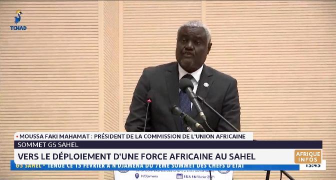 Sommet G5 Sahel: vers le déploiement d'une force africaine au Sahel