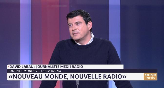 Célébration de la Journée mondiale de la radio avec David Labau