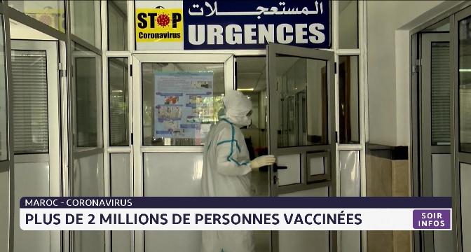 Coronavirus au Maroc: plus de deux millions de personnes vaccinées