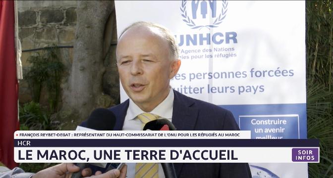 Le Maroc, une terre d'accueil. Déclaration de François Reybet-Degat du HCR