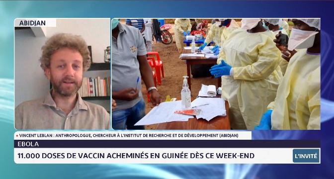 Ebola de retour en Guinée, la riposte s'organise. Analyse de VincentLeblan de l'IRD