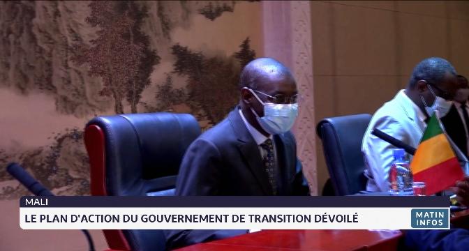 Mali: le plan d'action du gouvernement de transition dévoilé