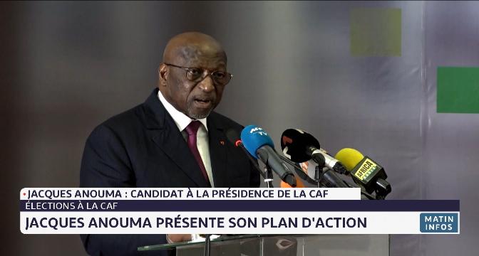 Présidence de la CAF: l'Ivoirien Jacques Anouma présente son plan d'action