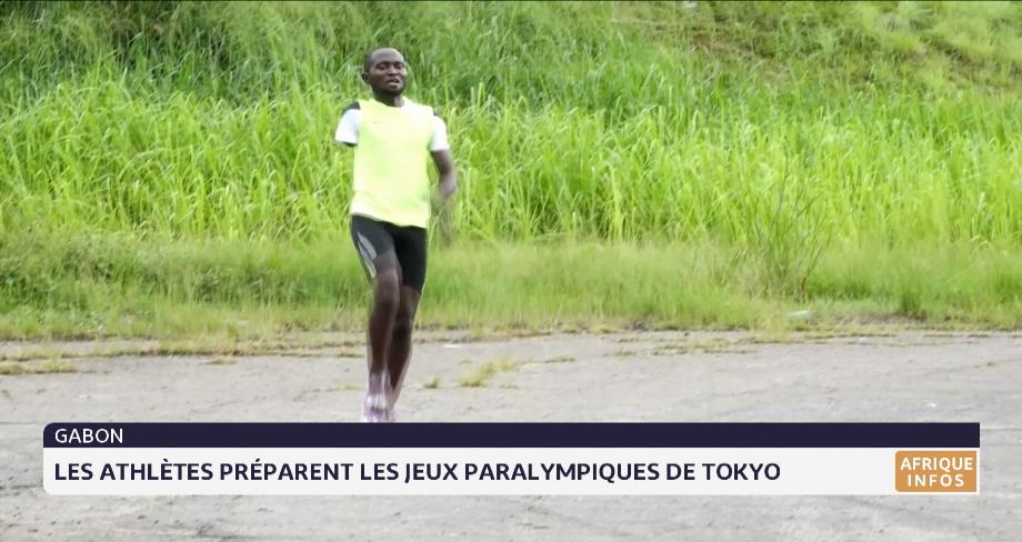 Gabon: les athlètes préparent les jeux paralympiques de Tokyo