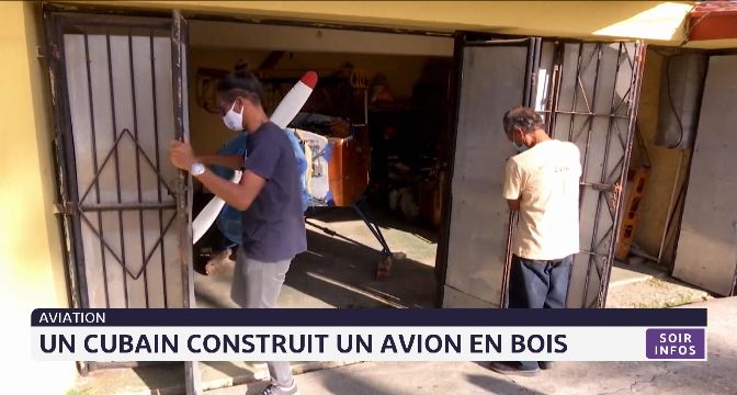 aviation: un cubain construit un avion en bois