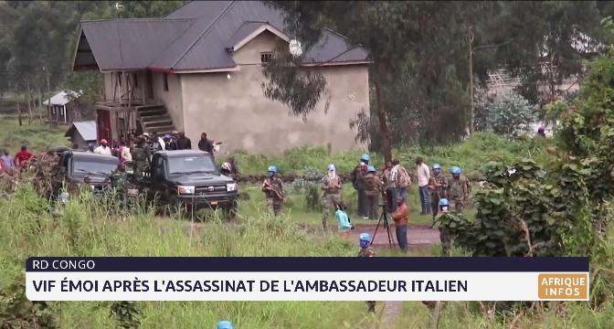 RDC: Vif émoi après l'assassinat de l'ambassadeur italien