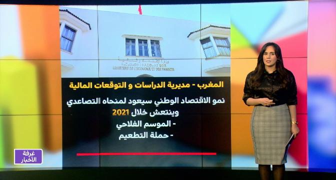 شاشة تفاعلية .. نمو الاقتصاد الوطني سيعود لمنحاه التصاعدي وينتعش خلال 2021